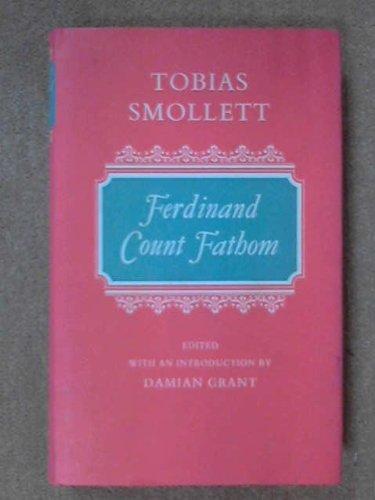 9780192553218: Ferdinand, Count Fathom (Oxford English Novels)