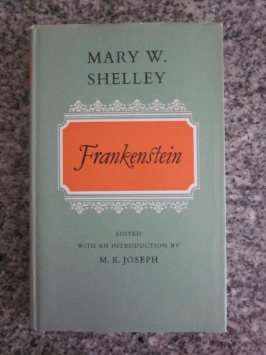 9780192553256: Frankenstein (Oxford English Novels)