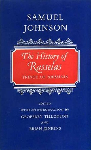 9780192553423: Rasselas (Oxford English Novels)