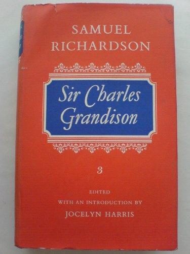 9780192553584: Sir Charles Grandison (Oxford English Novels)
