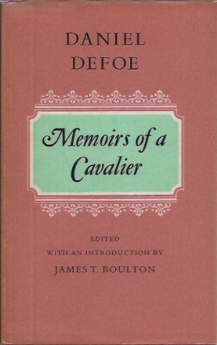 9780192553638: Memoirs of a Cavalier (Oxford English Novels)