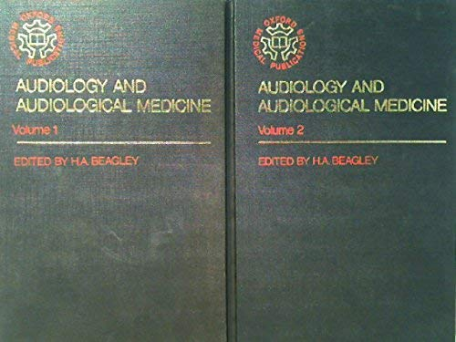 9780192611543: Audiology and Audiological Medicine (Oxford medical publications)
