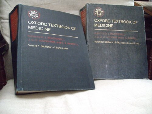 9780192611598: Oxford textbook of medicine (Oxford medical publications)