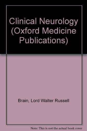 9780192613080: Brain's Clinical Neurology
