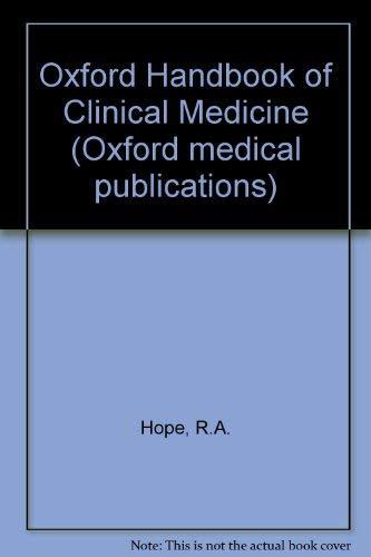 9780192613929: Oxford Handbook of Clinical Medicine (Oxford medical publications)