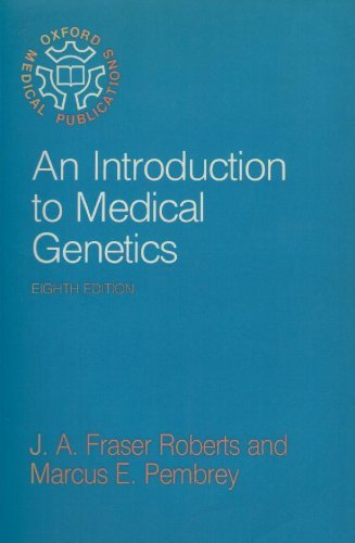 9780192614094: Introduction to Medical Genetics (Oxford Medical Publications)
