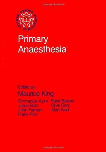 9780192615923: Primary Anesthesia (Primary Surgery Series)