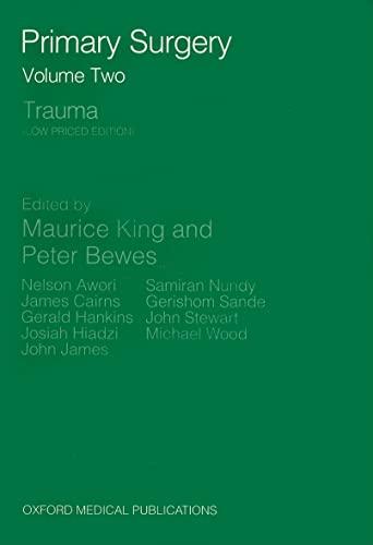 9780192615985: Primary Surgery: Trauma