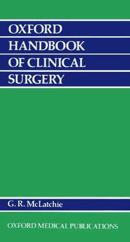 9780192617101: Oxford Handbook of Clinical Surgery