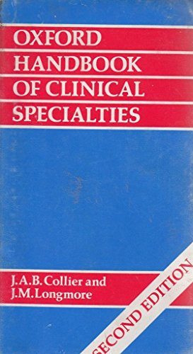 9780192618160: Oxford Handbook of Clinical Specialties