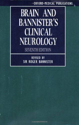 9780192619136: Brain and Bannister's Clinical Neurology (Oxford Medical Publications)