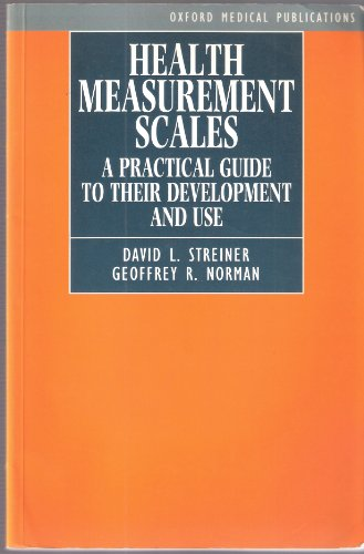 9780192620477: Health Measurement Scales: A Practical Guide to their Development and Use