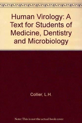 9780192621849: Human Virology: A Text for Students of Medicine, Dentistry, and Microbiology