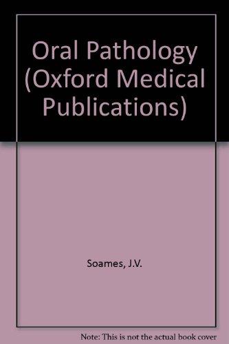 9780192622150: Oral Pathology (Oxford Medical Publications)