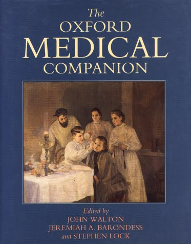 9780192623553: The Oxford Medical Companion