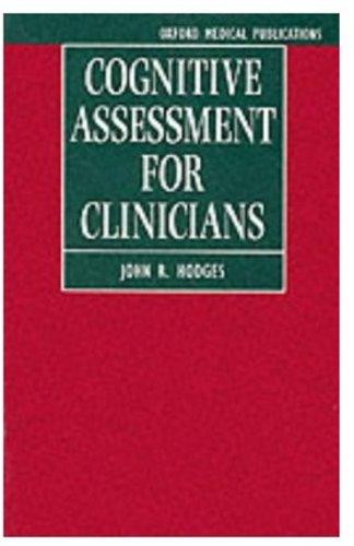 9780192623942: Cognitive Assessment for Clinicians (Paper)
