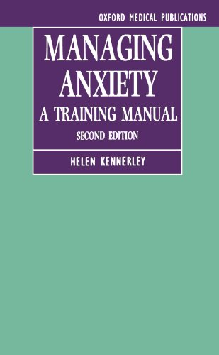 9780192624420: Managing Anxiety: A Training Manual (Oxford Medical Publications)