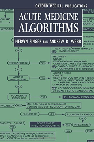 9780192624598: Acute Medicine Algorithms (Oxford Medical Publications)