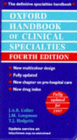 9780192625373: Oxford Handbook of Clinical Specialties (Oxford Medical Publications)