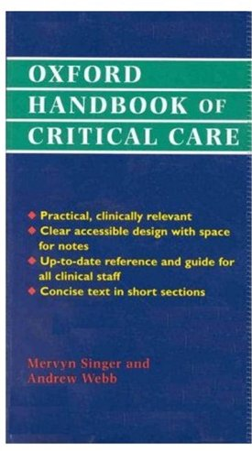 9780192625427: Oxford Handbook of Critical Care