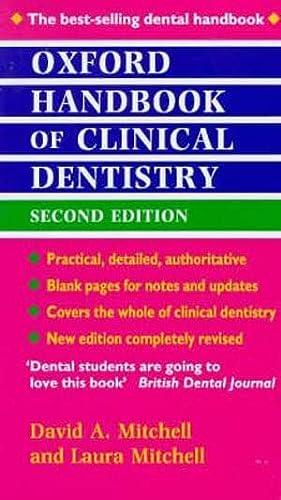 9780192626028: Oxford Handbook of Clinical Dentistry