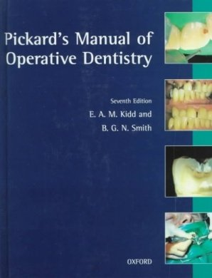 9780192626103: Pickard's Manual of Operative Dentistry
