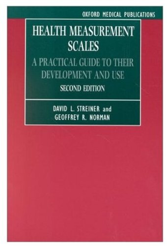9780192626707: Health Measurement Scales: A Practical Guide to Their Development and Use (Oxford Medical Publications)