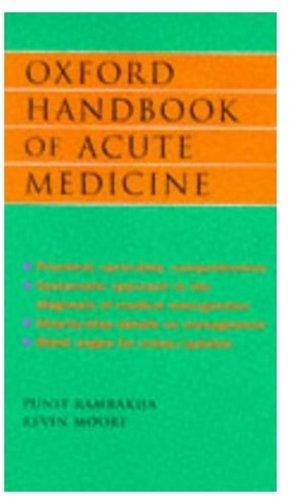 9780192626820: Oxford Handbook of Acute Medicine (Oxford Handbooks)