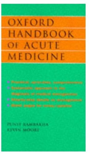 9780192626820: Oxford Handbook of Acute Medicine (Oxford Medical Publications)