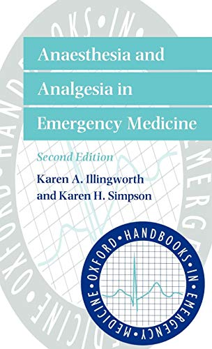 9780192629098: Anaesthesia and Analgesia in Emergency Medicine (Oxford Handbooks in Emergency Medicine)