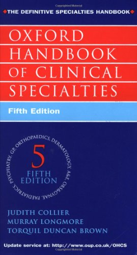 9780192629432: Oxford Handbook of Clinical Specialties