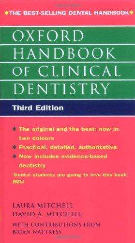 9780192629630: Oxford Handbook of Clinical Dentistry (Oxford Handbooks)