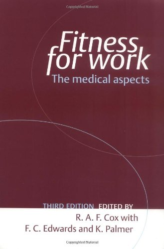 9780192630438: Fitness for Work: The Medical Aspects (Oxford Medical Publications)