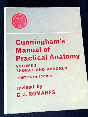 Cunningham's Manual of Practical Anatomy, Vol. 2: Cunningham
