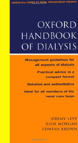 9780192631602: Oxford Handbook of Dialysis (Oxford Medical Publications)