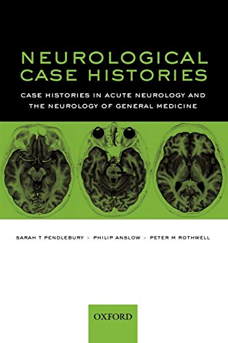 9780192631626: Neurological Case Histories (Oxford Case Histories)