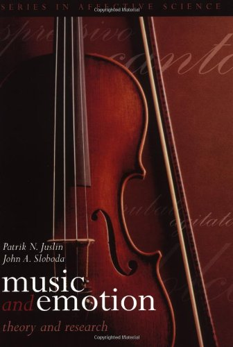 9780192631886: Music and Emotion: Theory and Research (Series in Affective Science)