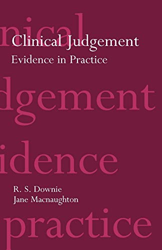 9780192632166: Clinical Judgement: Evidence in Practice (Oxford Medical Publications)