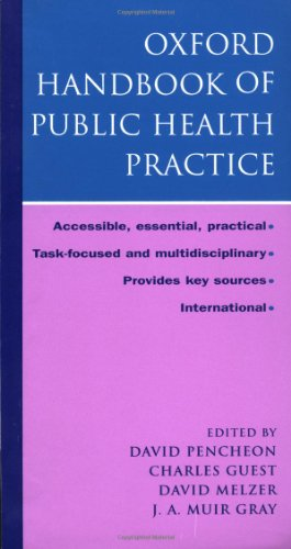 9780192632210: Oxford Handbook of Public Health Practice (Oxford Handbooks Series)