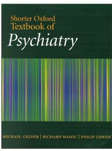 9780192632418: Shorter Oxford Textbook of Psychiatry