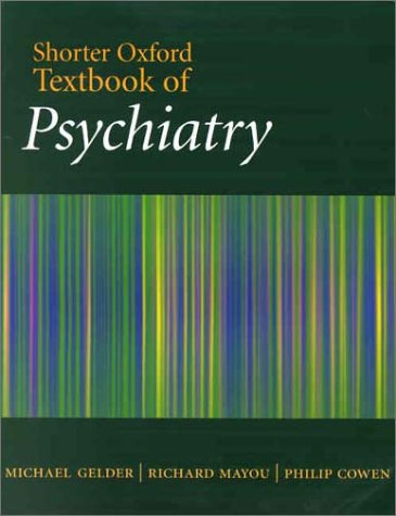 9780192632425: Shorter Oxford Textbook of Psychiatry