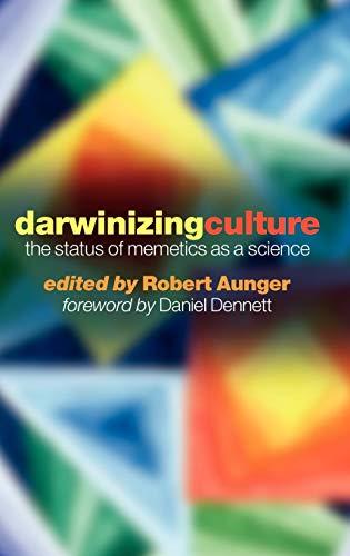 9780192632449: Darwinizing Culture: The Status of Memetics as a Science