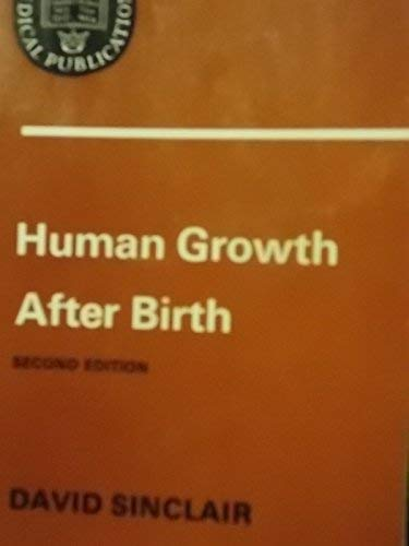 9780192633255: Human Growth After Birth (Oxford Medicine Publications)