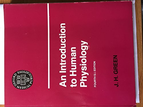 9780192633286: An Introduction to Human Physiology (Oxford medical publications)