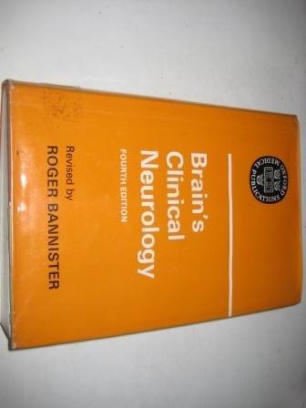 Brain's Clinical Neurology: Bannister, Roger