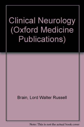 9780192641601: Clinical Neurology (Oxford Medicine Publications)