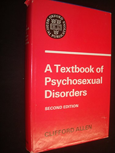 9780192644145: Textbook of Psychosexual Disorders (Oxford Medicine Publications)