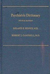 9780192644152: Psychiatric Dictionary (Oxford Medicine Publications)