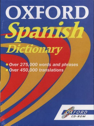 Oxford Spanish Dictionary CD-ROM: OUP, Oxford