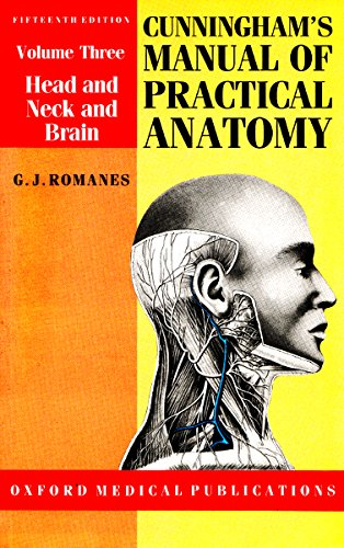 9780192690340: Cunningham's Manual of Practical Anatomy: Head and Neck and Brain (International Student Edition)